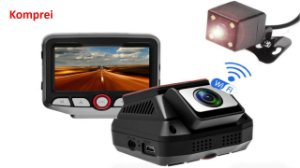 Filmadora E Câmera Veicular Com Wifi - Exclusividade