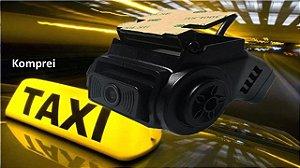 DVR VEICULAR 2CH 5MP + Câmera dupla HD Ônibus, TáxiI, Caminhão, Van, Aeronave e Barcos