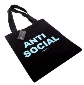 Ecobag Fresh Street Co. Anti Social Preta