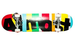 "Skate Almost Stripe Out Midi 7.0"" x 29"" ( Infantil )"