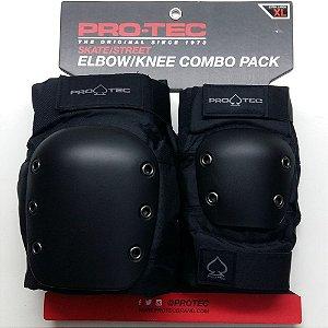 kit Proteção Street Pro Tec XL