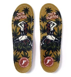 PALMILHA FOOTPRINT INSOLES GAME CHANGERS JACK CURTIN