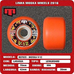 Roda Moska V-12 70mm 80A