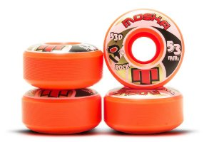 RODA MOSKA ROCK 53D 53mm LARANJA