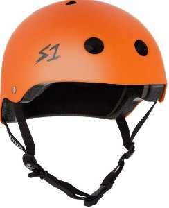 CAPACETE S ONE ORANGE MATTE