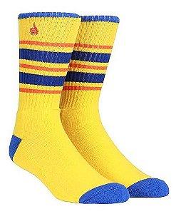 Meia Bro Style Yellow Blue