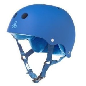 Capacete Skate Triple Eight Brainsaver Sweatsaver Royal Blue Rubber