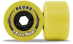 Retro Freeride Reflex Formula 72mm Lemon 83A by Abec 11