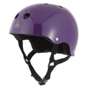 Capacete SKATE Triple Eight Purple Gloss