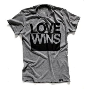 681b0fb799e7 CAMISETA LOVE WINS