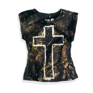 CAMISETA FEM CUSTOM CRUZ