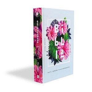 Bíblia NVT - Floral (Capa dura - Letra Grande)