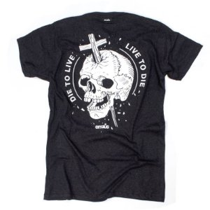 CAMISETA LIVE TO DIE DARK