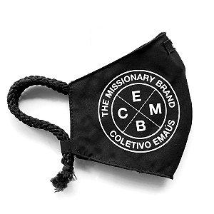Máscara de proteção facial / 100% algodão / Missionary