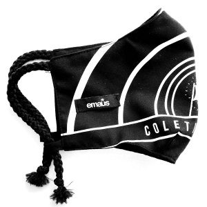 Máscara de proteção facial / 100% algodão / Bandeira