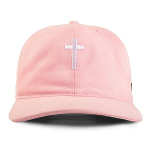 BONÉ DAD HAT CRUZ ROSA