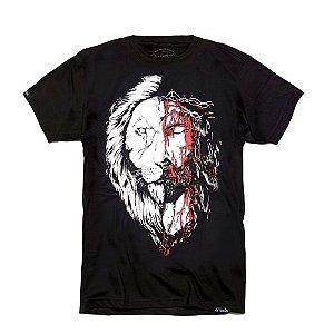 CAMISETA JESUS LEÃO BLACK