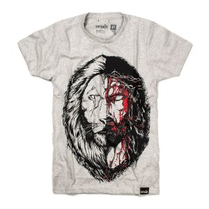 CAMISETA  JESUS & LION