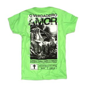 CAMISETA TRUE LOVE FLUOR