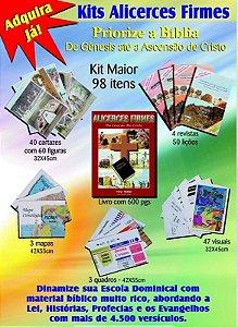 Série Alicerces Firmes - Kit maior e menor, para adultos e crianças