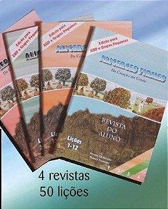 Kit com 4 Revistas - Alicerces Firmes da Criação até Cristo
