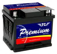 Bateria TC Premium 40AH - Com Prata - TC40VKSD – Baixa Manutenção