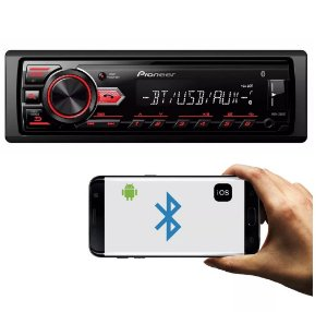 Radio Auto Pioneer MVH-298BT Bluetooth/Mp3/Usb/Android