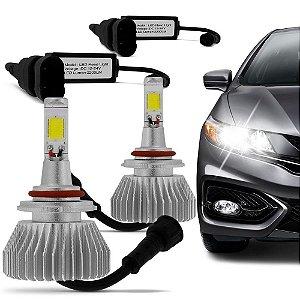 Kit Lâmpada Super Led Headlight 6000K 12V 35W - Efeito Xênon