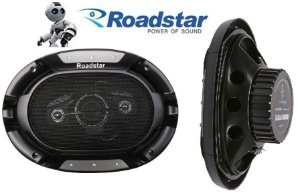 "Alto Falante Roadstar  Quadriaxial 6x9"" série 8 RS6908BR 200Watts - Par"