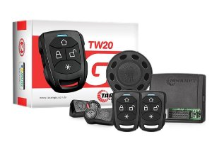 Alarme Automotivo Taramps TW20 G3 Universal Anti Assalto Botão Secreto Manobrista 2 Controles Remoto