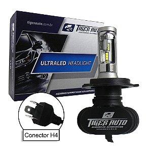 Kit Ultra Led Lâmpada - 8000 lumens - 12V - Super Branca Efeito Xenon