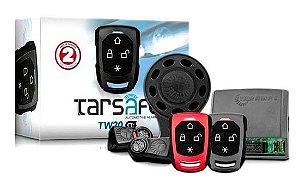 Alarme Automotivo Taramps TW20 G4 Universal Anti Assalto Botão Secreto Manobrista 2 Controles Remoto