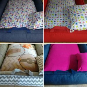 Cama montessori portátil / babynest personalizada