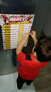 Quadro Calendário ou Tarefas (Incentivo) para rotina de crianças