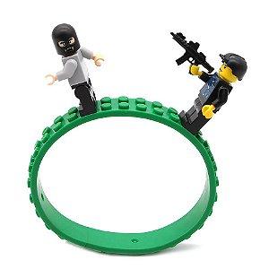 Fita compatível com Lego 1m - lote com 4 pçs 25cm