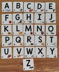 Flashcards para alfabetização