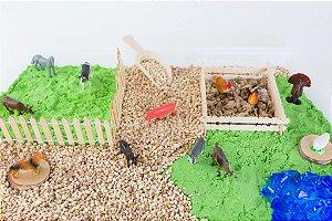 Decoração para mini mundos e atividades com miniaturas
