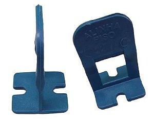 Espaçador nivelador tipo Clips 1mm