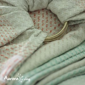 Ring Sling Athena Bloom | Dourada Polida