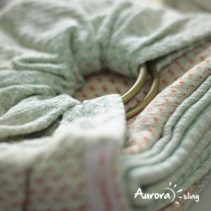 Ring Sling Athena Bloom | Dourada Fosca