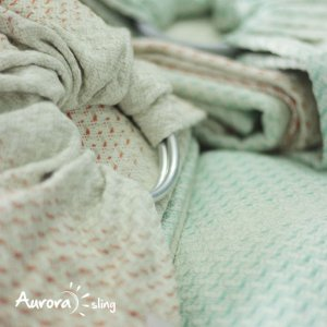 Ring Sling Athena Bloom | Prata Polida