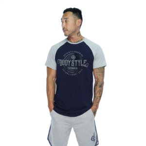 CAMISETA RAGLAN AUTHENTIC - MARINHO