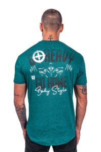 CAMISETA OVALADA HARD TRAINING - VERDE