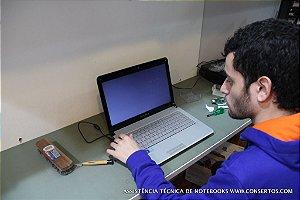 Assistência Técnica Notebook Positivo Premium, Limpeza do fan cooler e troca das pastas térmicas