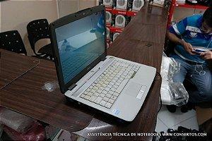Assistência Técnica Notebook Acer Aspire 4520 Series, notebook ficava muito lento e travando, recuperamos