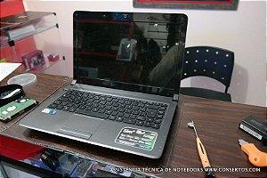 Assistência Técnica Notebook Positivo 5550 3D equipamento com problema na hd e não entrava no Windows, recuperamos ele rapidamente