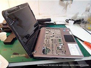 Assistência Técnica Notebook HP Pavilion dm4-1055br, troca de tela do Notebook HP Pavilion dm4-1055br feito aqui no Consertos.com