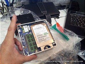 Assistência Técnica BAREBONE ZOTAC MINI PC ZBOXNANO-ID61, somos especializados em desktops pequenos