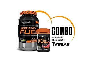 Twinlab - 100% Whey Protein Fuel + BCAA Fuel Powder