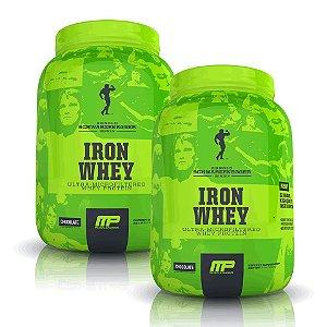 2 Iron Whey - Arnold Schwarzenegger Series + CHAVEIRO ARNOLD SCHWARZENEGGER